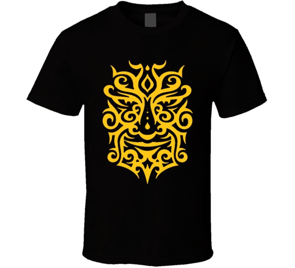 Tribal design t shirt - Gildan Maori Warrior Tribal Haka New Zeland Polynesian Gold Design T Shirt China