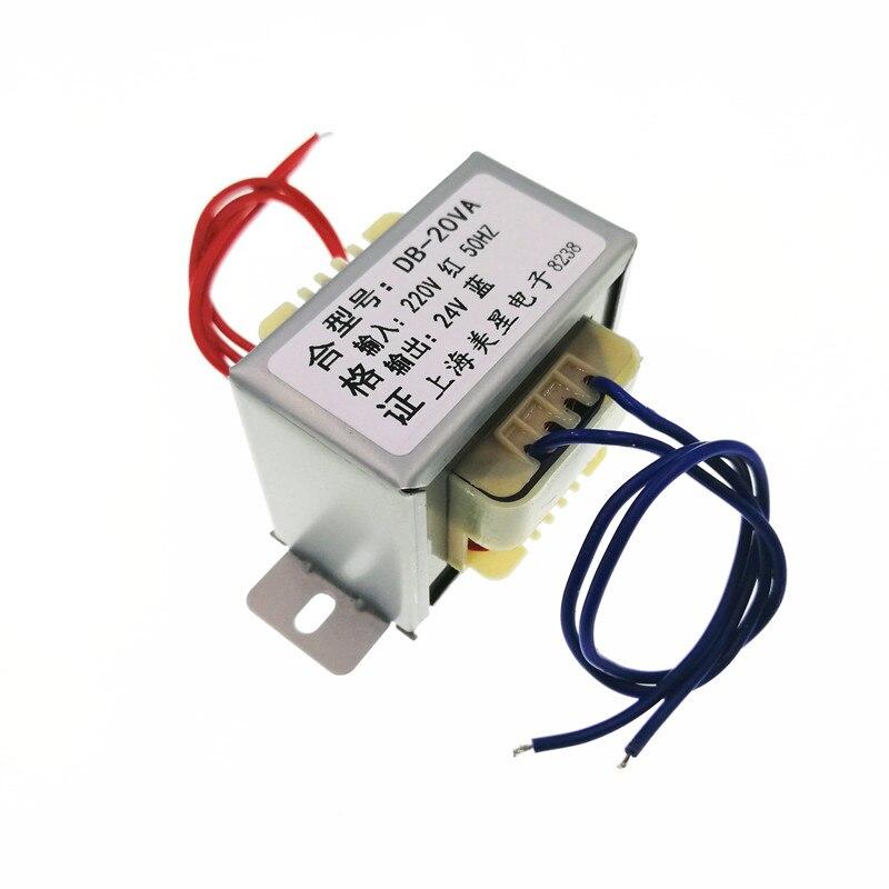 Output AC 12V EI57 1pcs 15W Single 12V Power Transformer Input AC 380V//50Hz