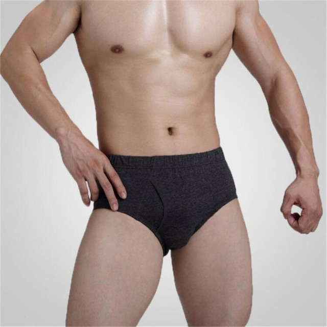 Men's Sexy Cotton Briefs