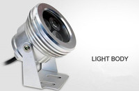 LED Lighting 3*3W DC12V 850LM LED Underwater Light Lamp LED aquarium light wholesale Free shipping