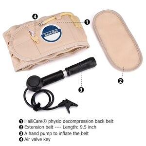 Image 3 - 腰椎サポートバック脊髄空気解凍腰ベルト空気牽引ウエストベルトバックマッサージ腰サポートブレースベルト