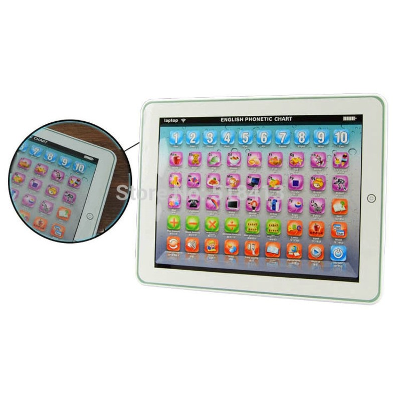 Baby Tablet Educational Toy Kids Child For 1-3 Year Old Toddler Learning English