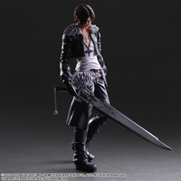 Action 26cm Anime Squall Leonhart Figure Play Art Kai Final Fantasy VIII PVC Collection Model Doll Toy