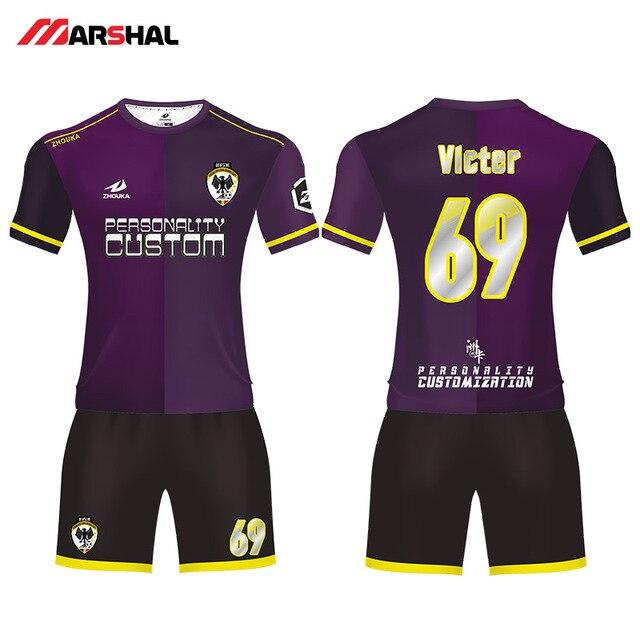 d981bbf97a1 professional custom soccer uniforms team football kits maker design any  logo numbers on line