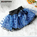 2016 Summer Girls Skirt Models Dots Lace Bow Tutu Veil Babies Skirt Children's Clothing