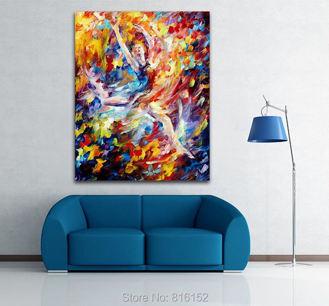 burning flight modern abstract painting printed on canvas ideas on