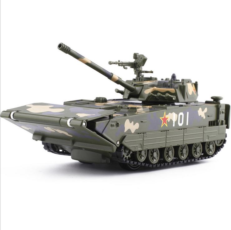 1:32 Alloy Pull Back Tank Model, High Simulation Military Tank Toys,metal Castings, Music Flash Children's Toys,free Shipping