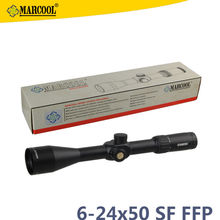 Marcool Brand EVV 6-24×50 Guns And Weapons Army Tactical First Focal Plane Hunting Rifle Telescope With Rangefinder Reticle