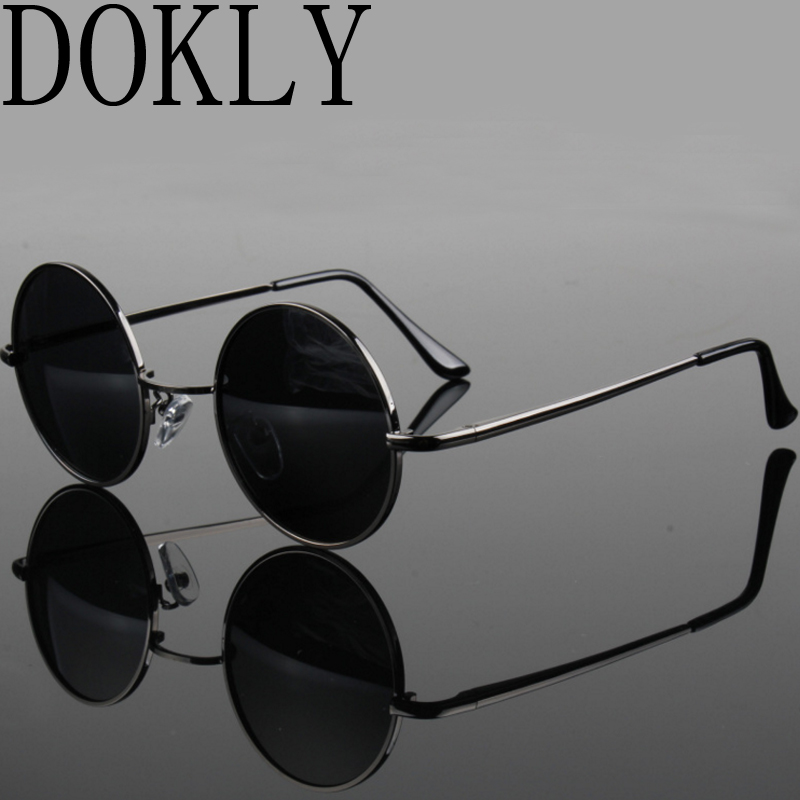 HTB1mQ60RXXXXXXnXXXXq6xXFXXXC - FREE SHIPPING Polarized sunglasses vintage sunglass round sunglasses Black Lens JKP412