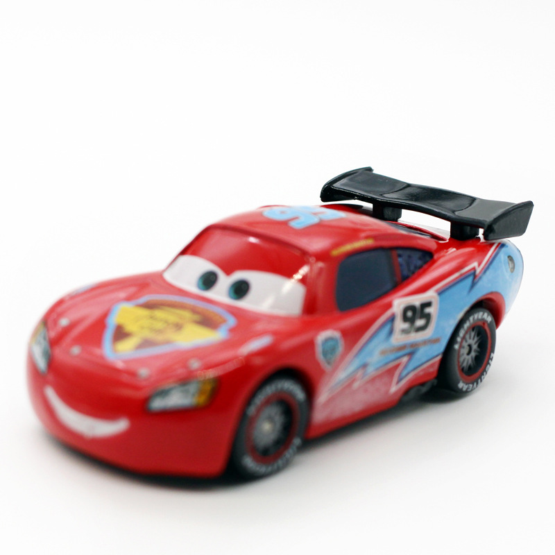 Disney Pixar Cars 2 3 Ice Cup Racer Lightning McQueen Metal Diecast Alloy Toy Car Model For Children Gift 1:55 Brand Toys