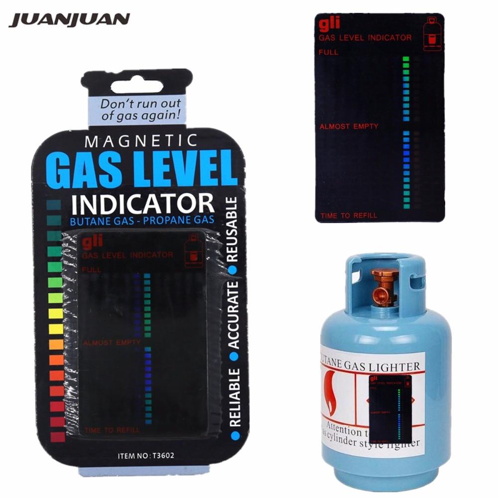 Gas Tank Level Indicator Magnetic Gauge Caravan Bottle Propane Butane LPG Fuel Gas Tank Level Indicator 20% off