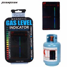 Indicador de nivel de tanque de Gas magnético de botella para caravana propano butano Combustible GLP indicador de nivel de tanque de Gas 20%