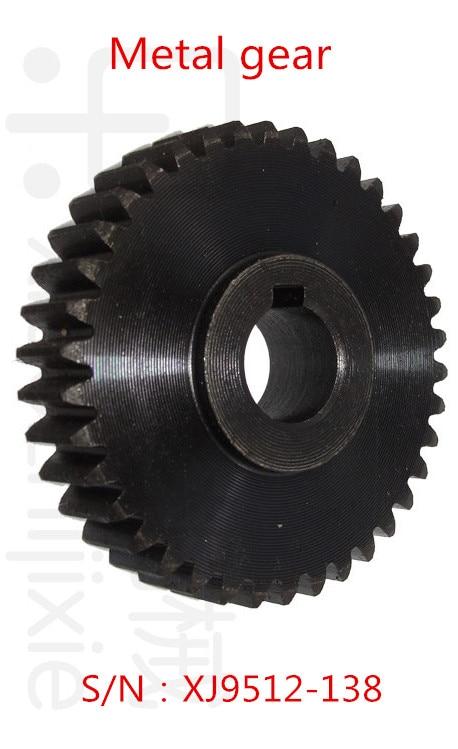 xj9512 - Freeshipping 1Pcs Milling machine parts Metal gear S/N:XJ9512-138