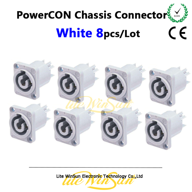 Litewinsune Gratis Schip China PowerCon Connectors Wit Base voor ...