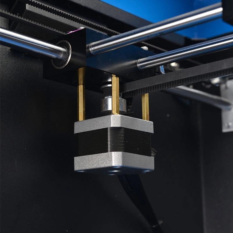 Extrusora de doble boquilla FDM 3D impresora de escritorio Imprimante PLA ABS filamento 3D máquina de impresión con para el diseño de juguetes y la educación - 5