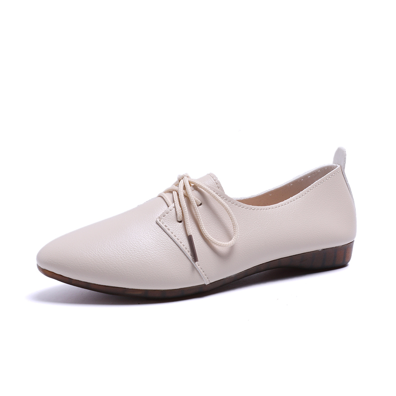 2019 New Arrival Women Flats Shoes Pointed Toe Shallow Flats Fashion Spring Autumn Women Shoes Loafers Casual Soft Zapatos Mujer 2