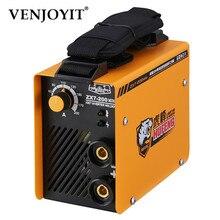 Сварочный аппарат для резки IGBT AC инвертор портативный MMA ARC бытовой Электрический сварочный аппарат 10A-200A сварочные щипцы и сварочные электроды