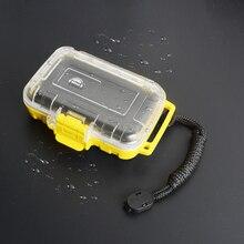 Okcsc ip68 방수 이어폰 보관 가방 보호 이어 버드 케이스 헤드셋 케이블 플러그 액세서리 박스 홀더 내충격 방지