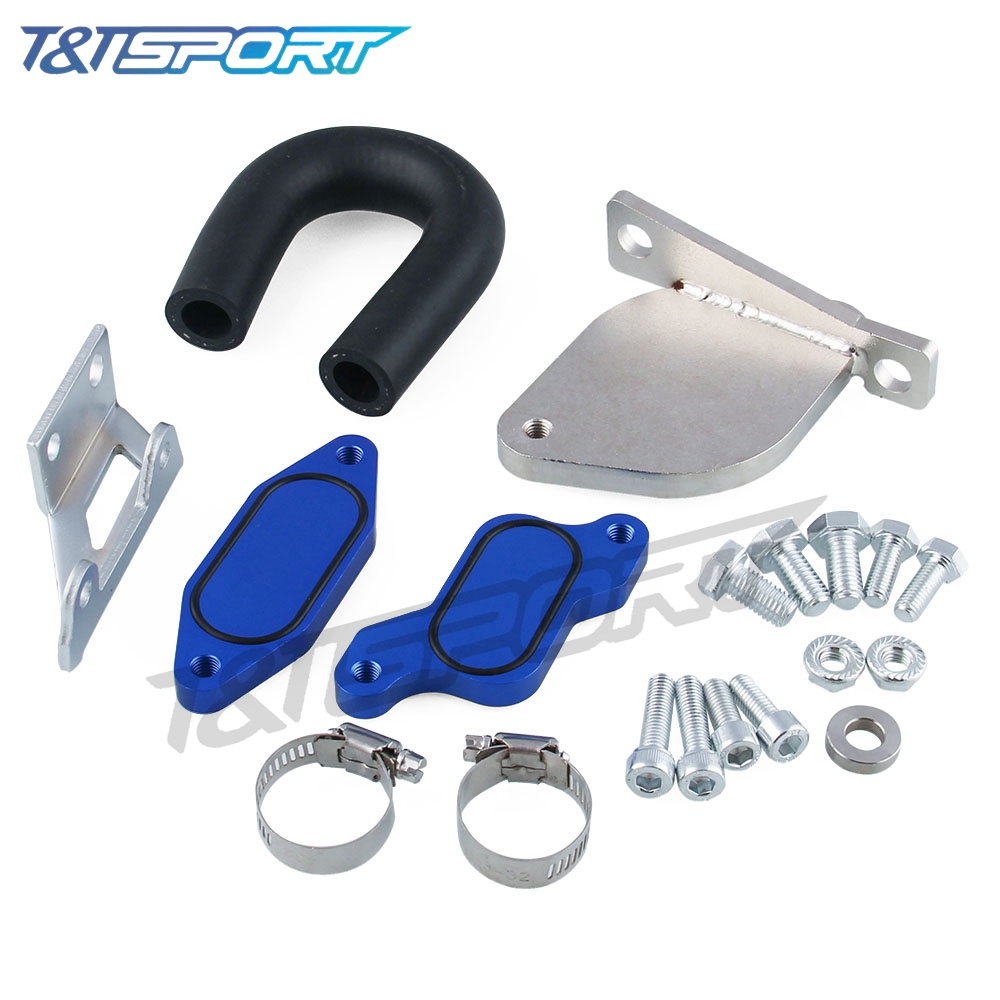 US $58 23 |RYANSTAR RACING EGR Value Coller Deleter Kit For 05/07 10  Chevy/GMC Blue on Aliexpress com | Alibaba Group