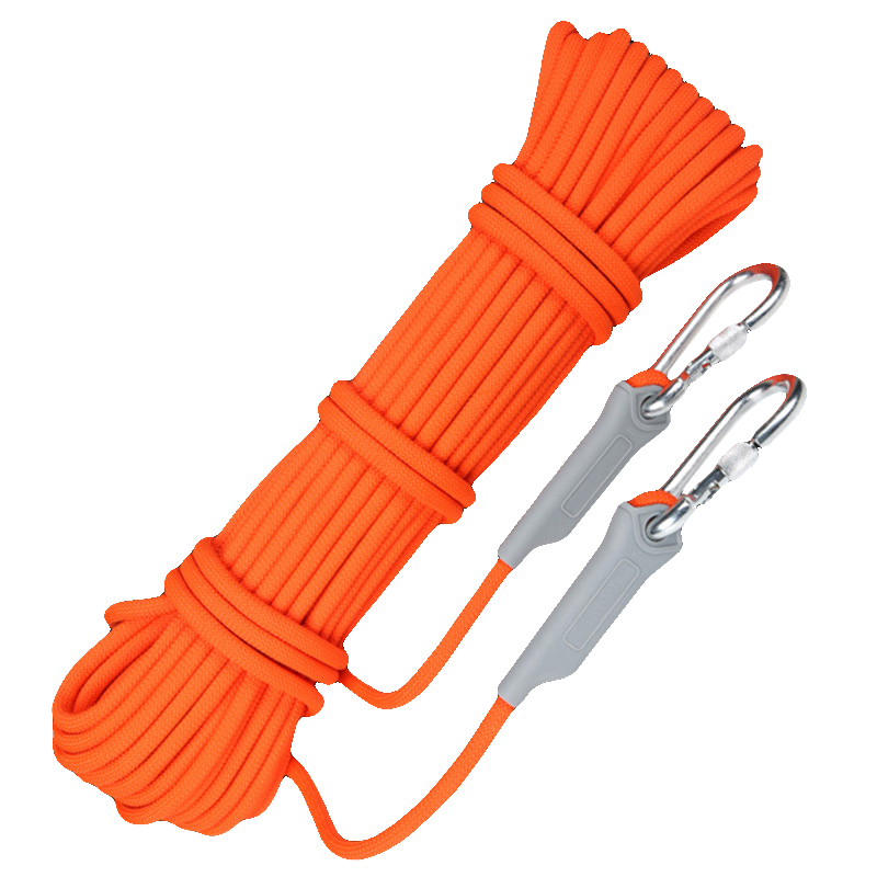 10M Safety Lifeline Outdoor Survival Climbing Auxiliary Rope Self Defense Emergency Life Saving Rope Rescue Equipment Supplies