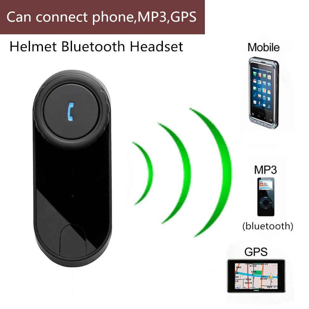 T Comvb Bt Sans Fil Intercomunicador Interphone Casque 800 M