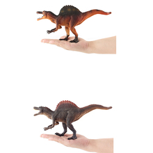 28CM Spinosaurus Dinosaur Toys Action Figure Animal Model Collection Learning Educational Children Gifts Yellow and Grey
