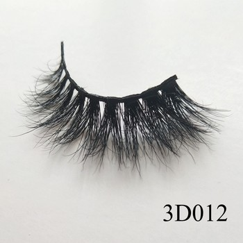 UPS Free Shipping 100 Pairs Cosmetics Hot Selling Products False Eyelash Natural Mink Eyelashes Hand Made 3d Mink Lashes Vendor