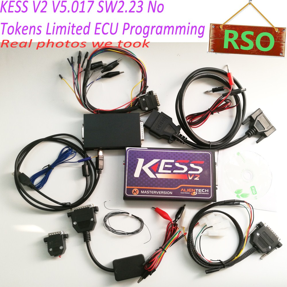 Super quality Kess 5.017 Kess V2 V5.017 V2.23 ECU Programmer Online Version kess v2 master Work Stable ktag k tag ecu programming ktag kess v2 100% j tag compatible auto ecu prog tool master version v1 89 and v2 06