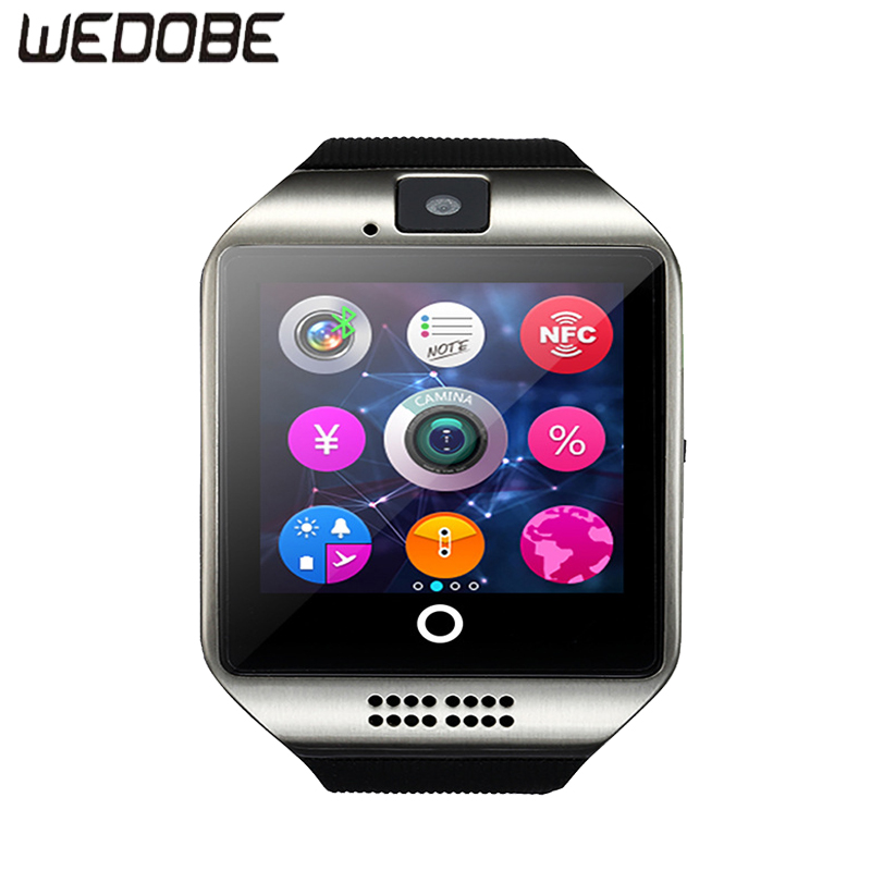 WEDOBE BS-Q18 Smart Watch Clock With Facebook Whatsapp Twitter Sync Notifier support SIM TF Card For Android Phone iPhone