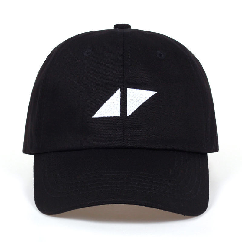 CDFNCG 2019 Summer Snapback Pop DJ AVICII Embroidery Cotton Black   Baseball     Cap   Streetwear Sun Dad Hip Hop Hat for Men Women Muts