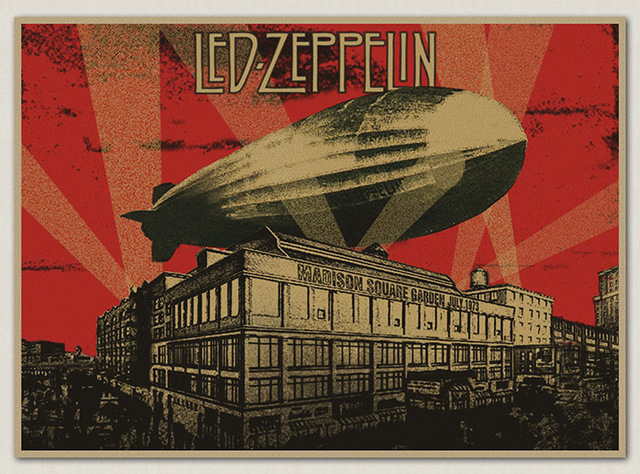 ballon dirigeable led zeppelin