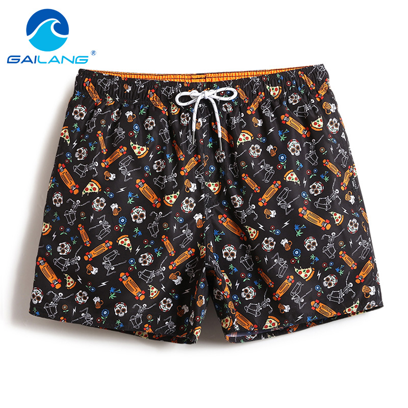 Gailang Brand Casual Men's Swimwear Swimsuit Board Shorts Men Beach Active Jogger Bermudas Man Boxers Trunks Quick Dry Bottoms