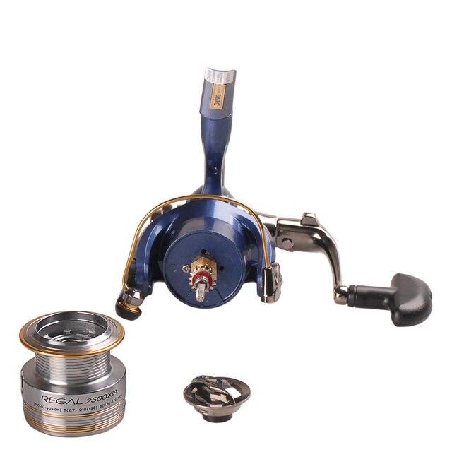 Original DAIWA REGAL Spinning Fishing Reel 2000XIA 2500XIA 3000XIA 4000XIA Size With Double Spool 10BB 5.3:1 Pesca Moulinet 2