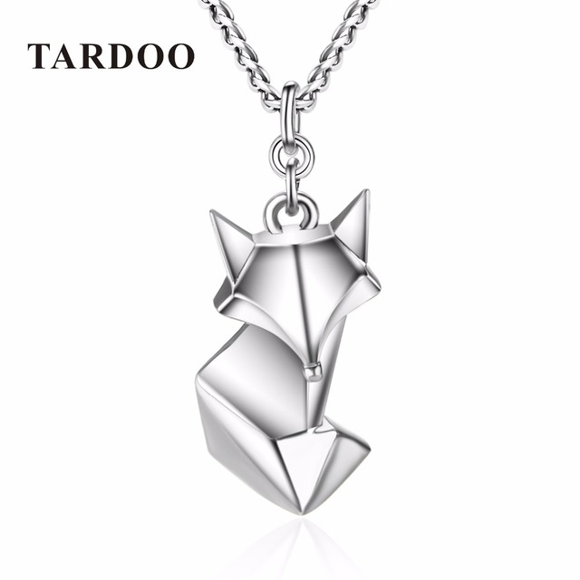 Tardoo cute fox folding anmial on sale necklaces pendants for tardoo cute fox folding anmial on sale necklaces pendants for women 925 sterling silver lovely mozeypictures Gallery