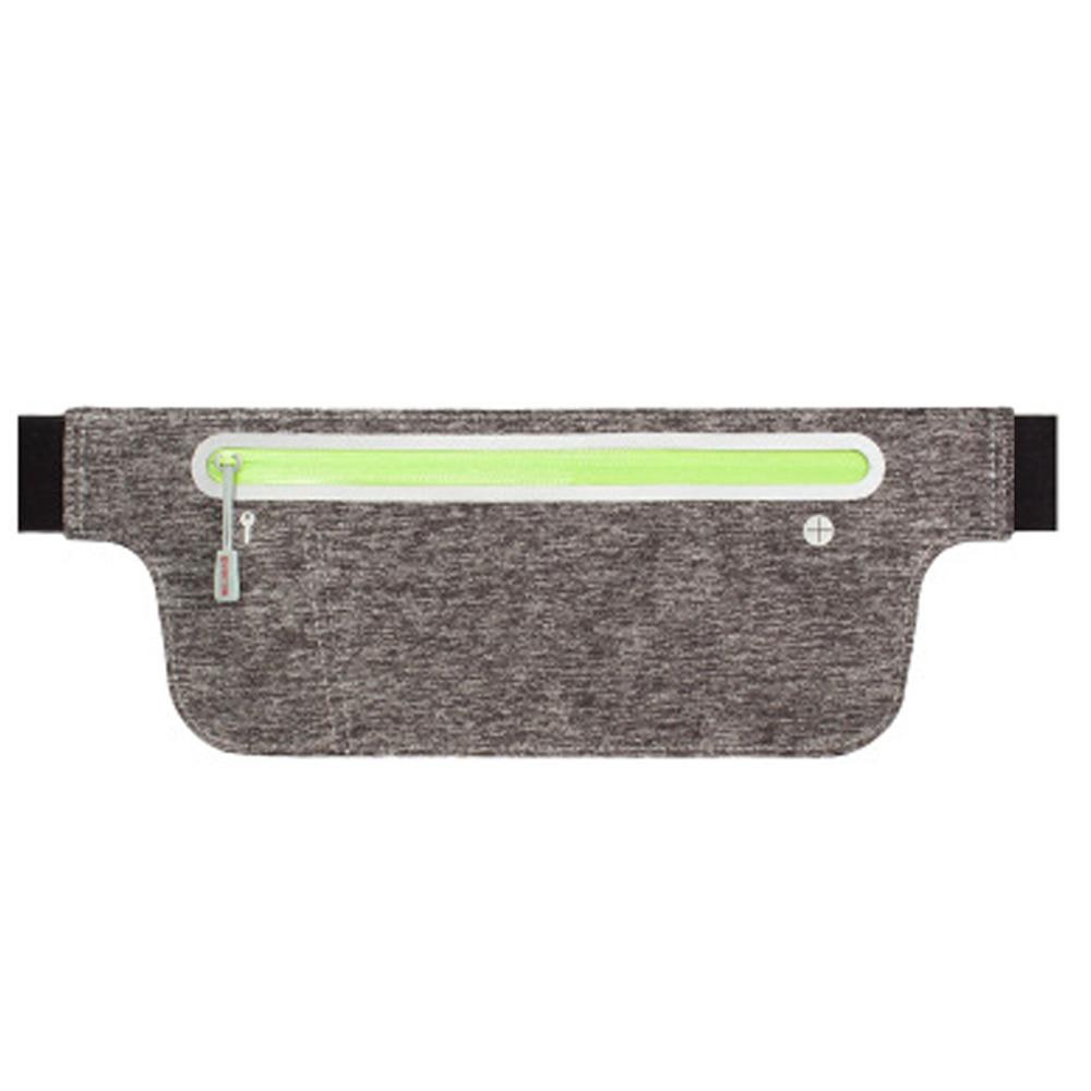 Portable Waist Pack Bag Women Men Waterproof Ultrathin Lycra Waist Bags Stash Money Belt Travel Phone Pockets Belt Wallet