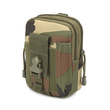 2019 New Outdoor Tactical Waist Bag Military Climbing Mobile Bag Army Sport Travel Camping Hiking Trekking Camouflage Bag canvas multi layer hiking trekking bag tactical military men sports and climbing waist bag new outdoor bum hip bag