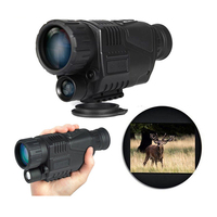 High Quality Tactical Monocular Infrared Night Vision Goggles 5X40 Night Vision Scope Takes Photos Video Hunting