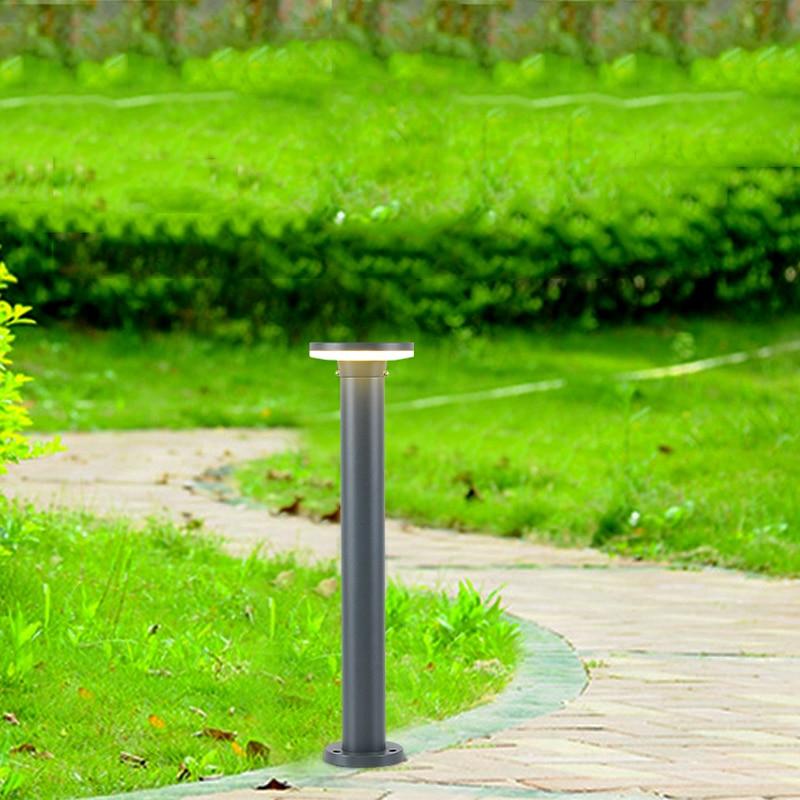 LED outdoor garden lights waterproof dustproof home garden lawn lamp countyard balcony villa lighting europe style creative outdoor garden lights glass and aluminium garden lamps park countyard tuinverlichting
