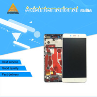 Axisinternational LCD Screen Display Touch Panel Digitizer With Frame For Oneplus X E1001 White Black Free