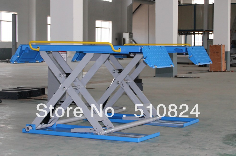 Mid Rise Scissor Car Lift Hoist For Car Washing For Sale In Tire