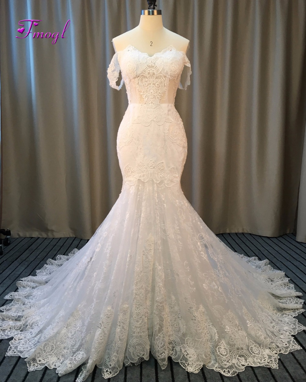 New Sexy Mermaid Wedding Dresses 2018 Sweetheart Neck Lace Up Back ...