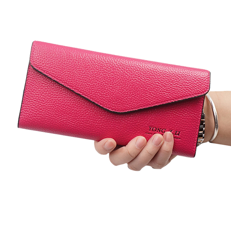 Women Wallet Leather Card Coin Holder Money Clip 2017 High Quality Long Trifold Phone Clutch Envelope Photo Casual Female Purse women wallet leather card coin holder money clip long phone clutch 2017 letter high quality envelope cash pocket female purse