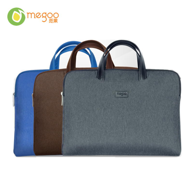 Megoo 13.5 Laptop/Tablet Sleeve Case Handbag With Handle For Microsoft Laptop/Surface Book/For MacBook Air/For Xiaomi Air 13.3 megoo surface book 13 5 leather case sleeve cover pu ultra thin for microsoft surface book 13 5 for macbook air 13 3