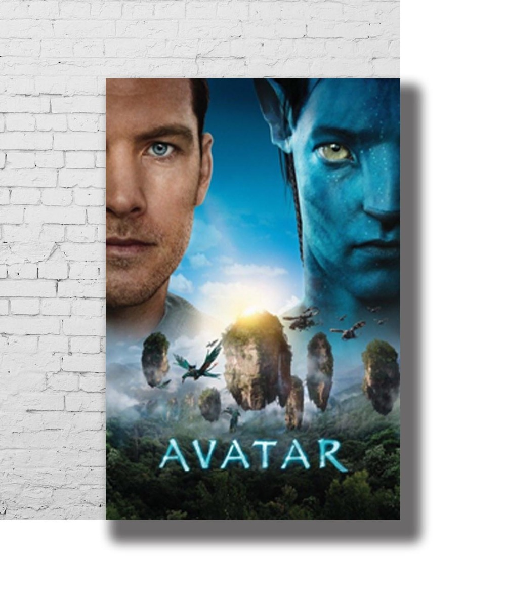 Avatar Sequels To Be Cancelled James Cameron Hints New: G 100 Avatar Movie James Cameron 2009 Film 02 Fabric Home