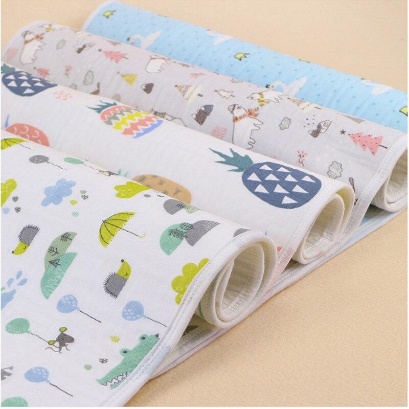 1 pièce Wasoyoli bébé matelas à langer 70*90 cm nouveau-né bébé Portable réutilisable matelas à langer infantile literie imperméable tapis de jeu