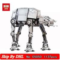 DHL Shipping LEPIN 05050 AT AT the Robot War Behemoth Building Blocks 1137pcs Bricks Funny Children Toys Gift Compatible 75054