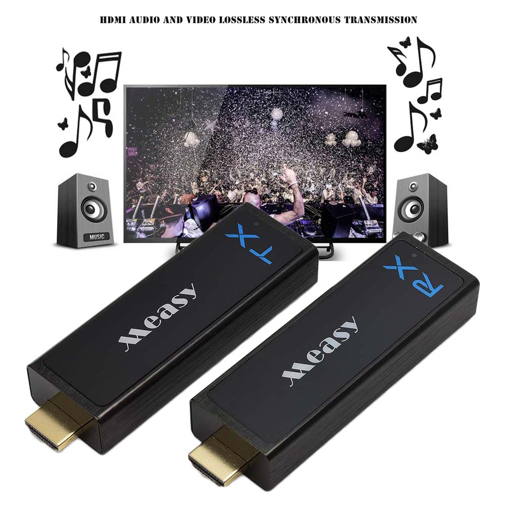 measy w2h nano  Measy W2H Nano Wireless HD Sender Kit with Receiver and Transmitter ...