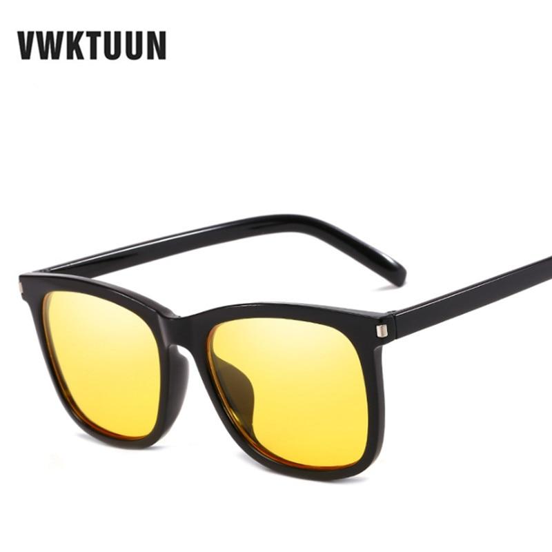 78d3318b86 VWKTUUN cuadrado gafas de sol hombres nueva moda gafas Grandes Vintage  Retro gafas de sol UV400 gafas de deporte de gran tamaño gafas cuadradas