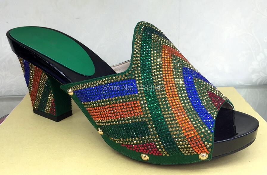 ФОТО aliexpress UK 2015 New Africa Women's High Heels For Women Party( YH015-924-green)!Africa Women's Shoes