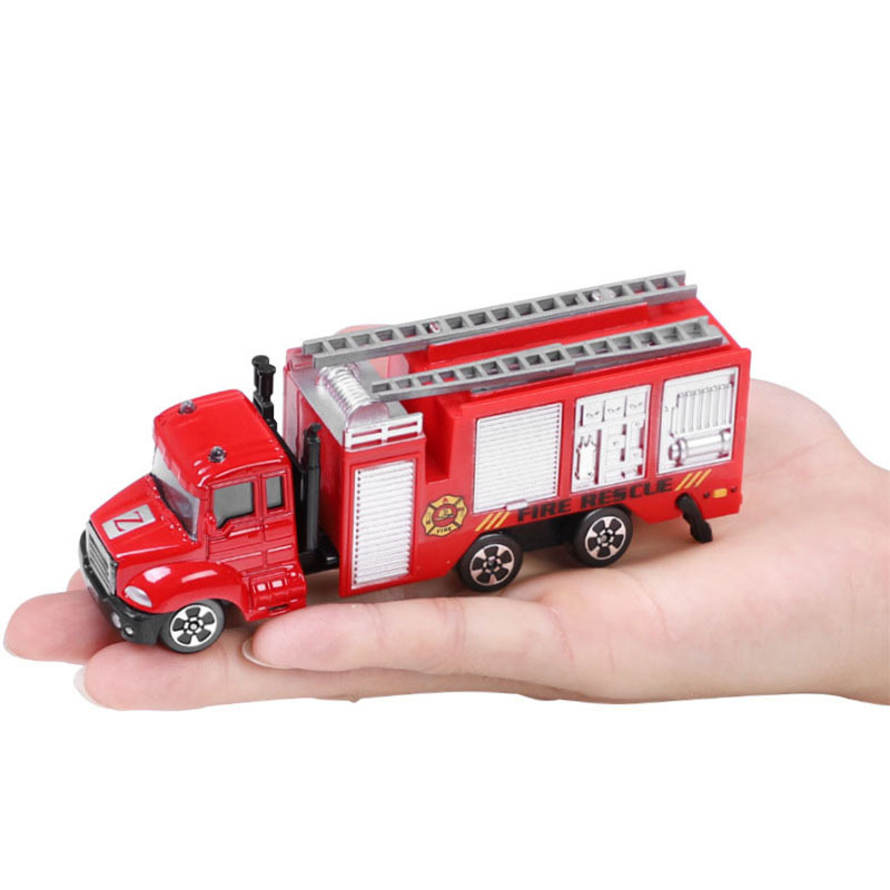New Alloy Die Casting Construction Construction Sanitary Truck Express Car Dump Truck Car Ladder Vehicle Education Children